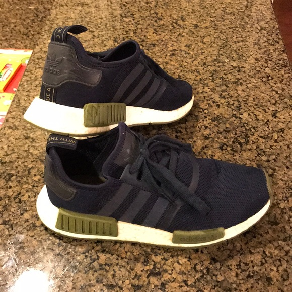 4b05d389010b adidas Other - Adidas NMD navy blue and olive green
